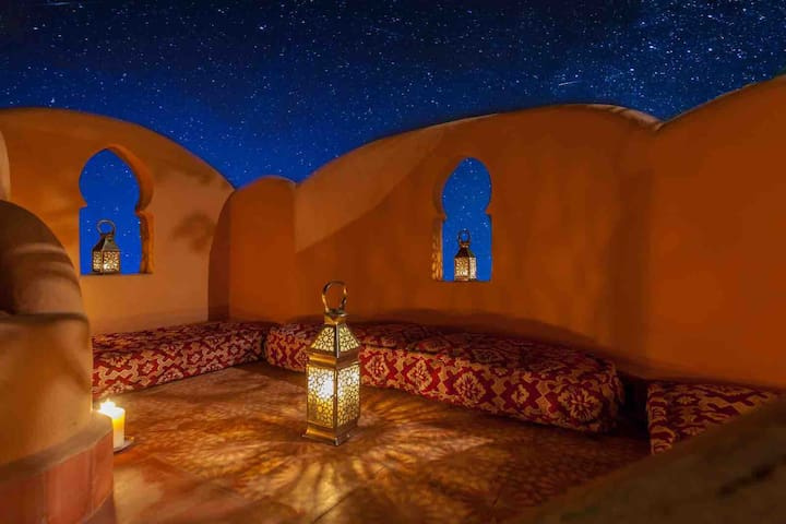 "Riad Tasneem - Enjoy an amazing view  ""Sherazade"""