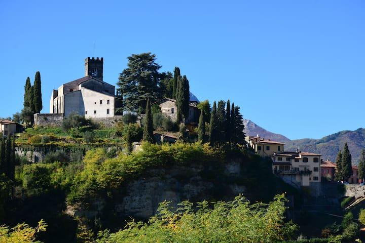 The view of Barga -Tuscany