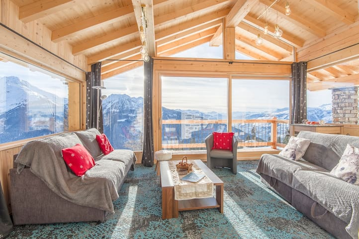 Appt 3* 80m² 8pers in chalet - La Rosière resort