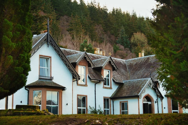 The Apartment at Foyers Lodge, Loch Ness