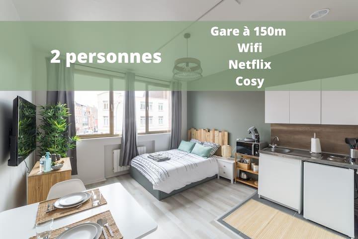 ★ Le Gustave***Cosy-Wifi-Centre-Gare à 150m ★