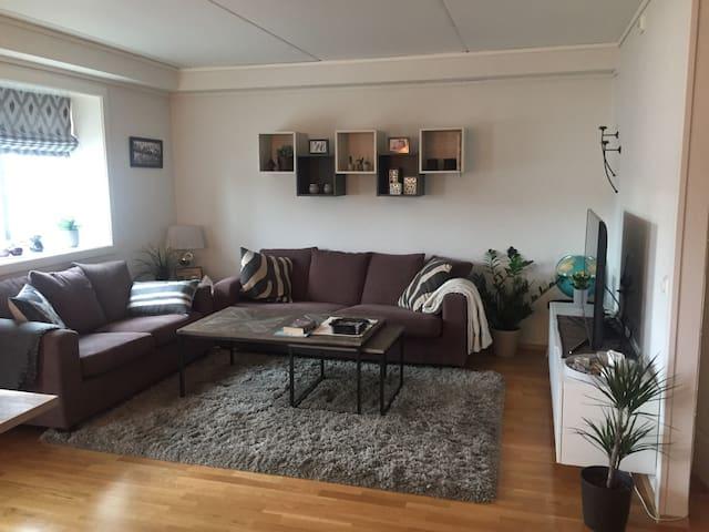 Lys og trivelig leilighet i sentrum av Stjørdal - Stjørdal - Apartment
