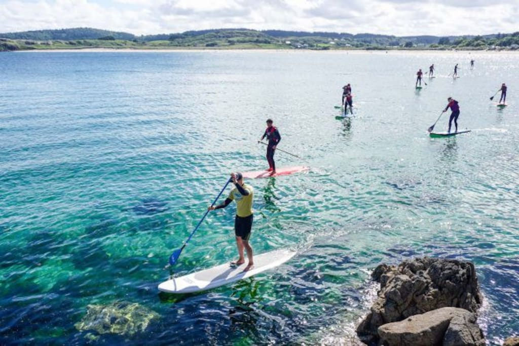 Stand Up Paddle Boarding at Marble Hill