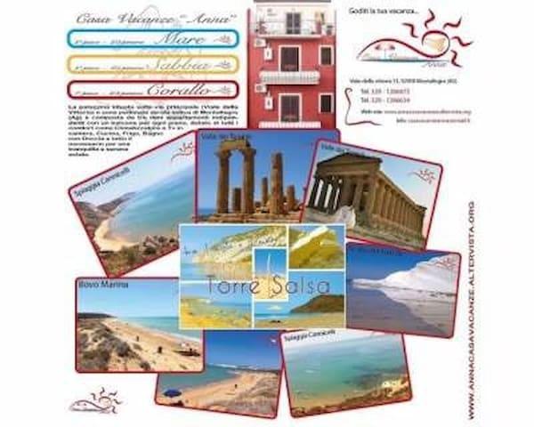 Casa vacanze Anna torre salsa - Montallegro - Adosado