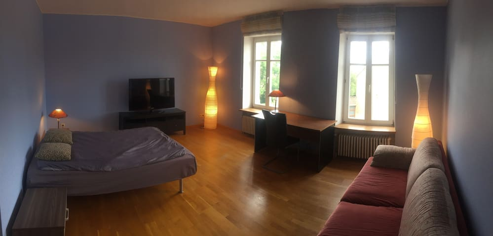Big room close to Airport and Kirchberg 12min