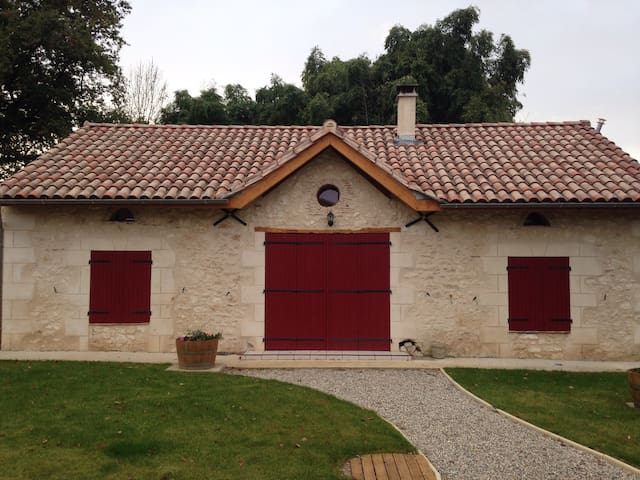 Charming home between St Emilion & Bergerac - La Roquille - Domek parterowy