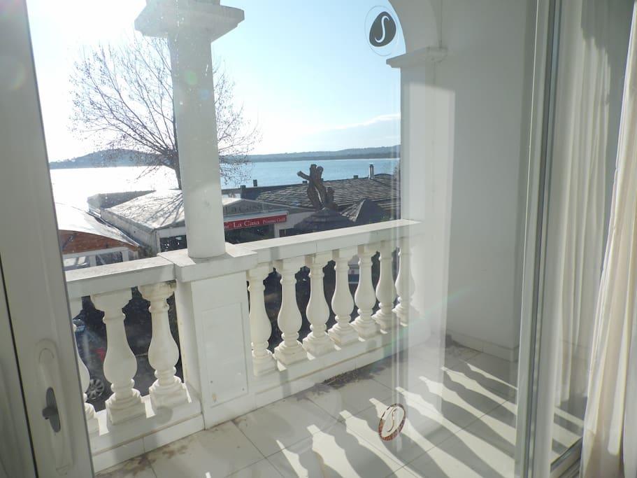 terrasse vue mer