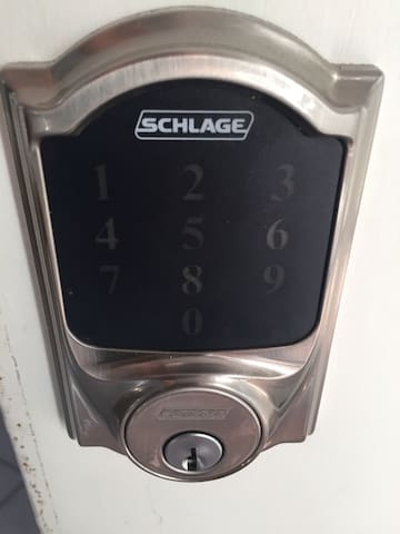 Keyless lock using your personal 4 digit code
