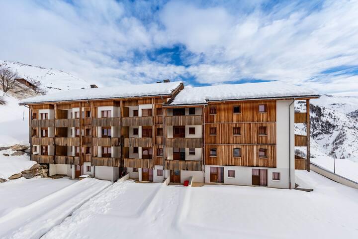 Appartement montagne 8p, près du centre de la station