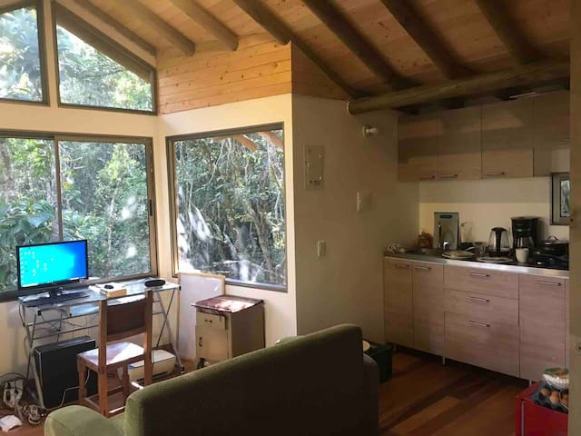 Beautiful 1 bedroom cabin 25 mins from Medellin