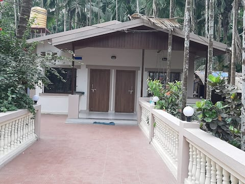 Saffron House with 2 Bedroom near Nandgaon Beach