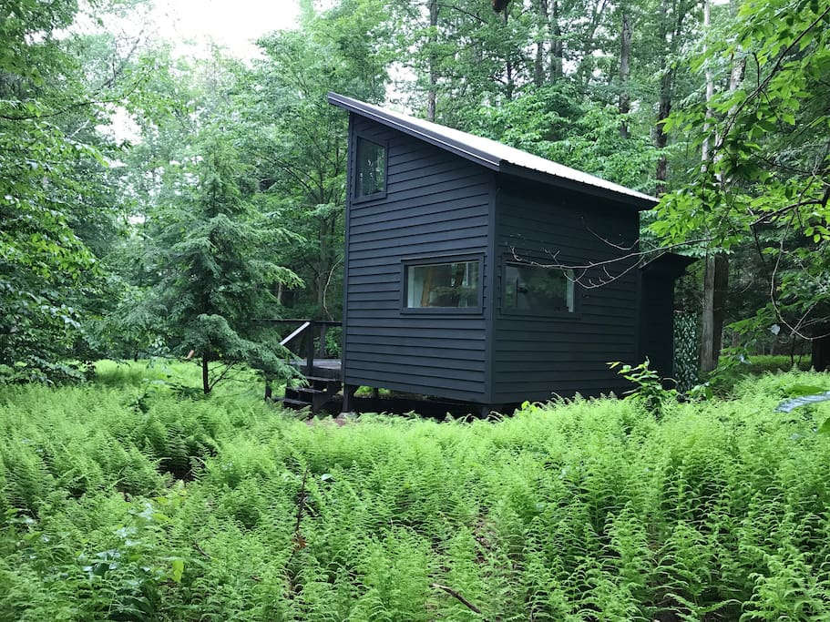 Black Swan Lake House On 12 Acres Catskill Modern Cabins