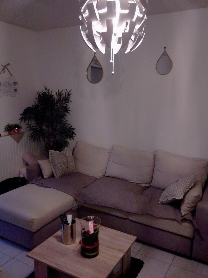 Appartement 2 chambres entre Versailles et Paris