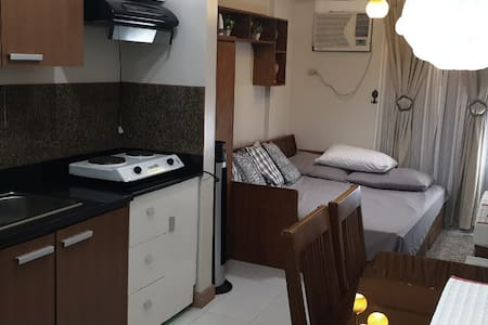 COZY Studio Condo Unit near Abreeza Mall w/ WIFI