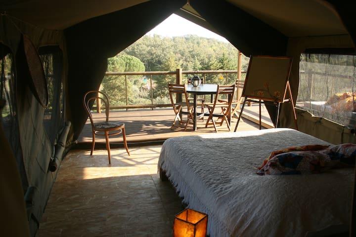 Safari tent Hambanine near Vicentina Coast