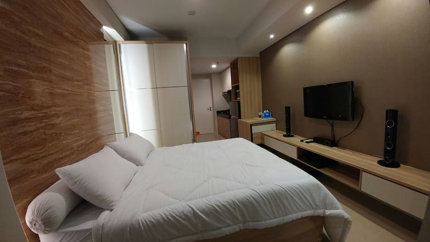 Cozy studio apartment @ WestJakarta - Kebon Jeruk - Pis