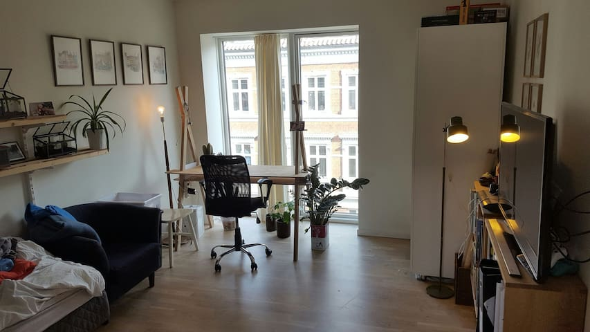 A room in central & new appartment - Aarhus - Appartement