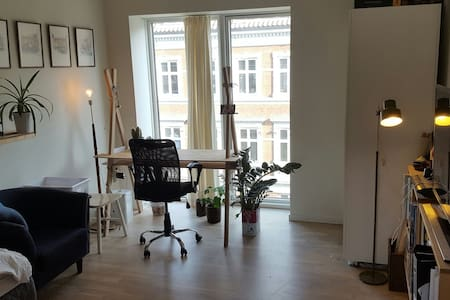 A room in central & new appartment - Aarhus - Pis