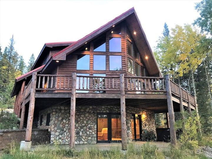 Deep Snow Lodge-Log Cabin Close to Terry Peak, Deadwood