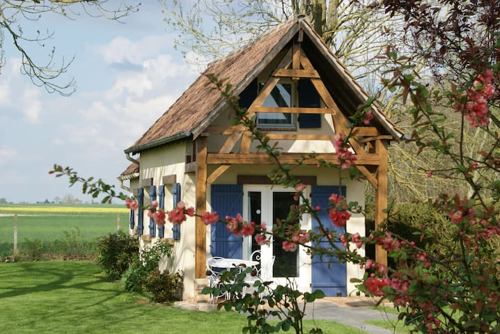 A norman list of charm in a green area - Le Troncq - Holiday home
