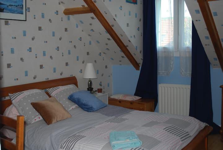 Chambre d'hôtes dans maison pleine de vie (ch 1)