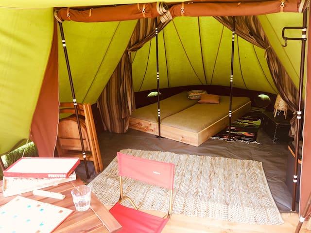 Glamping (2pers tent plek 66) Camping Dijk en Meer