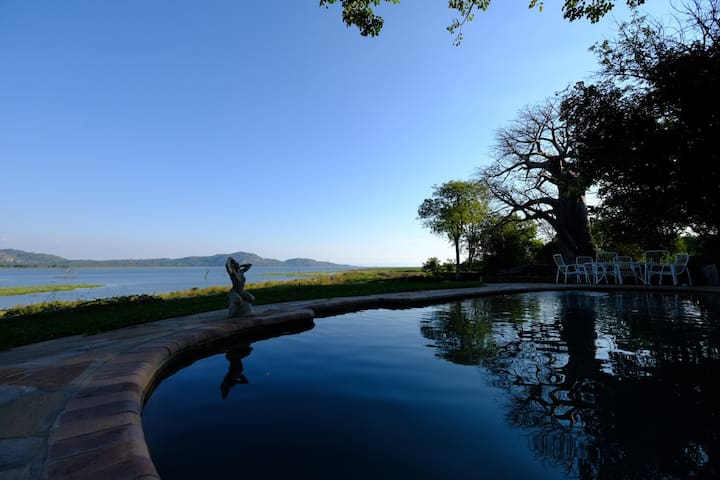 Baobab House on  Lake Kariba