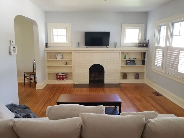 No Cleaning Fee! Close to Ark! Family Friendly!
