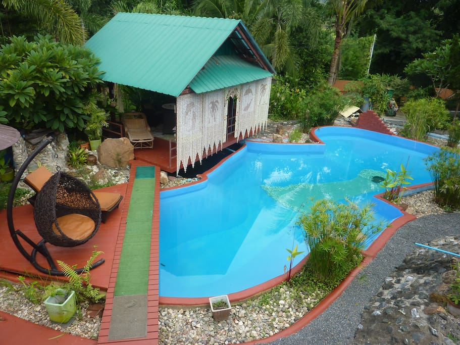 House for rent whis pool for max 4 person houses for rent in doi saket chiang mai thailand for Chiang mai house for rent swimming pool