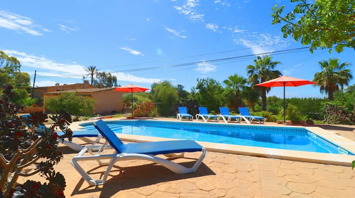 Can Cova, private pool, wifi free