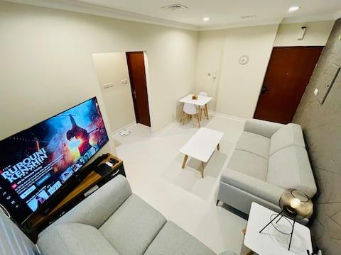 Fully furnished 5G internet/ Netflix/Bein 4K65inch