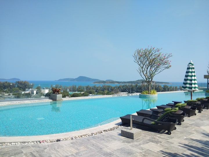 Sun rise sea view 1 Bed Condo Rawai Naiharn beach