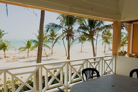 Beach front 2 BR condo