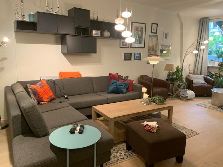 Central, modern appartement, next to Frogner park.