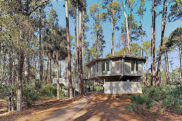 New Listing! Unique Waterside Octagonal Villa