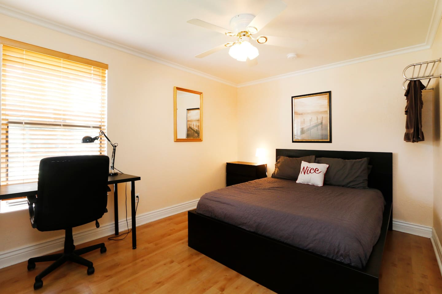 When you step into Bedroom #2 you will see a bright bedroom