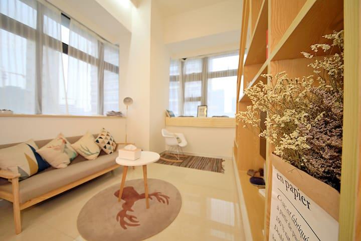 June-厦门【北欧】1RoomLoft小复式Brt速达机场火车站 - Xiamen - Apartamento