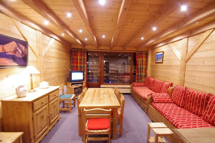 Chalet atmosphere - Ski in/ski out - Tignes Lac - Tignes - Flat