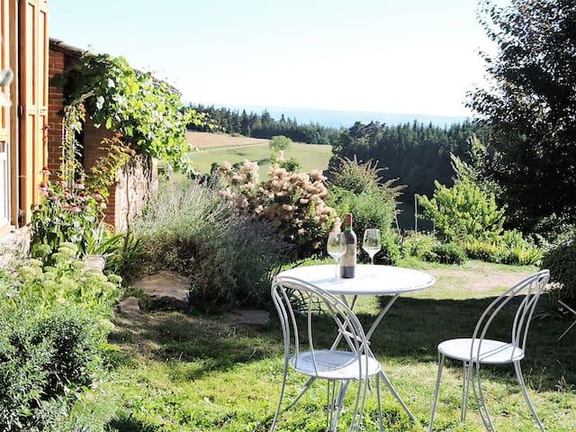 gite avec panorama - Champagnac-le-Vieux - House