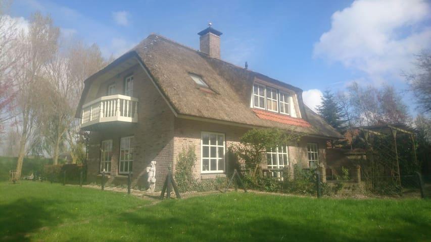 Landelijke woning met zeer ruime tuin nabij kust - Warmenhuizen - Maison