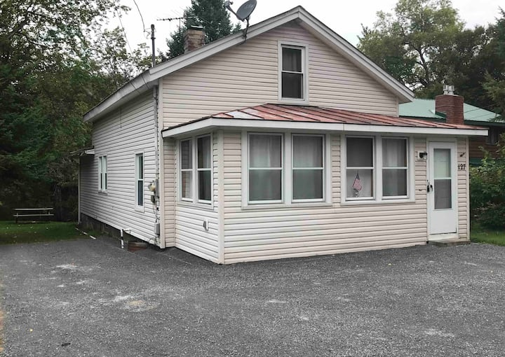 Moose Riverside Bungalow  3BR  Home Old Forge NY
