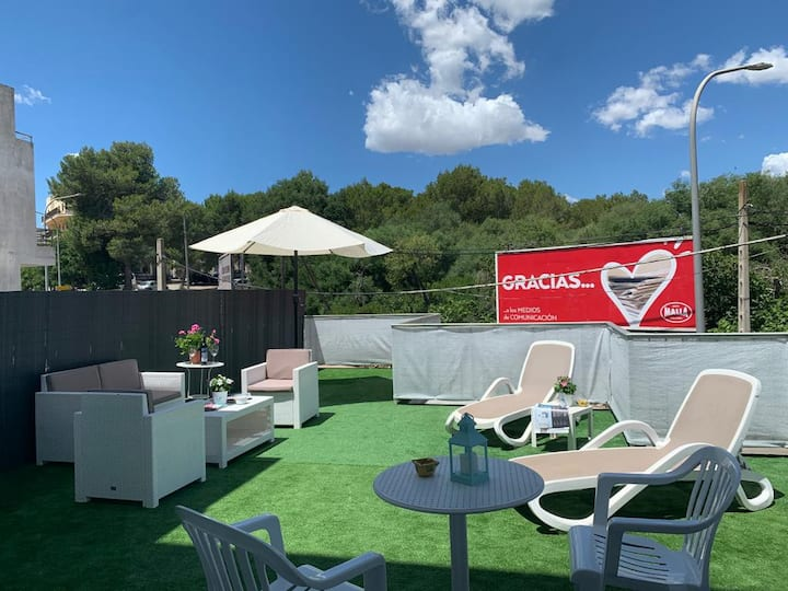 SUITE FAMILIAR CON GRAN TERRAZA