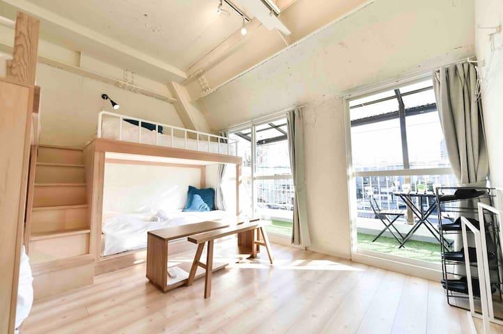 【New】Shotengai Hotels -tokiwa- 3F-①