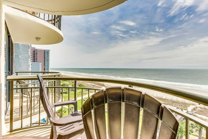 Oceanfront Condo w No Resort Fees