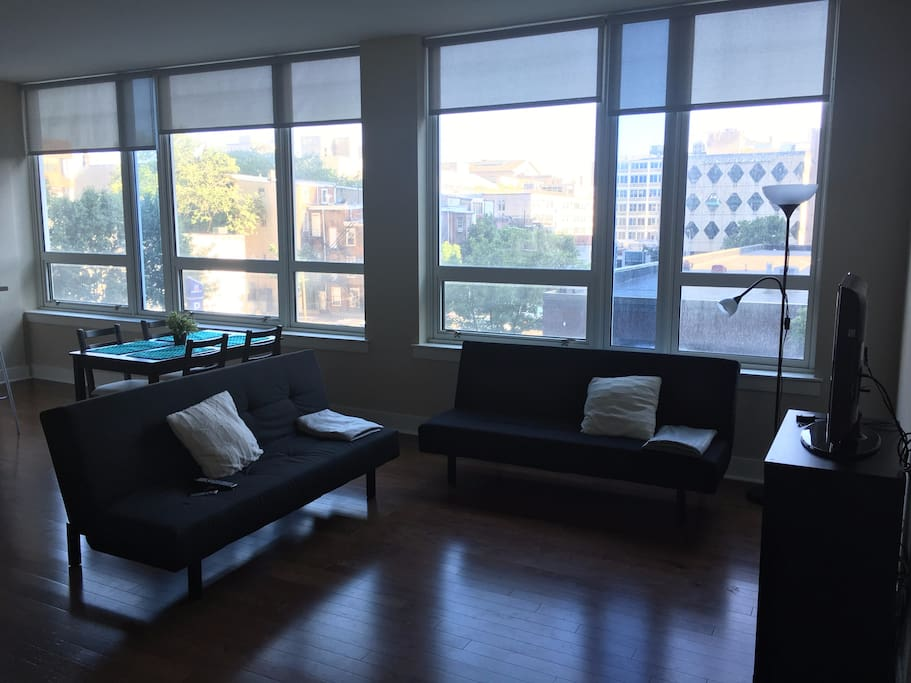 1 bedroom apartment loft in center city apartments for - 1 bedroom apartment philadelphia ...