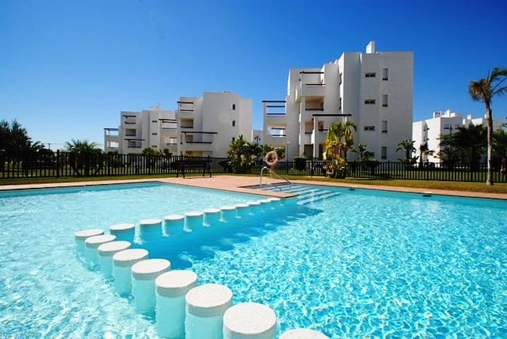 Apto con vistas golf.10min playa - Torre-Pacheco - Apartment