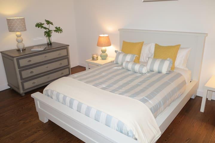 Bedroom # 3 with queen size bed