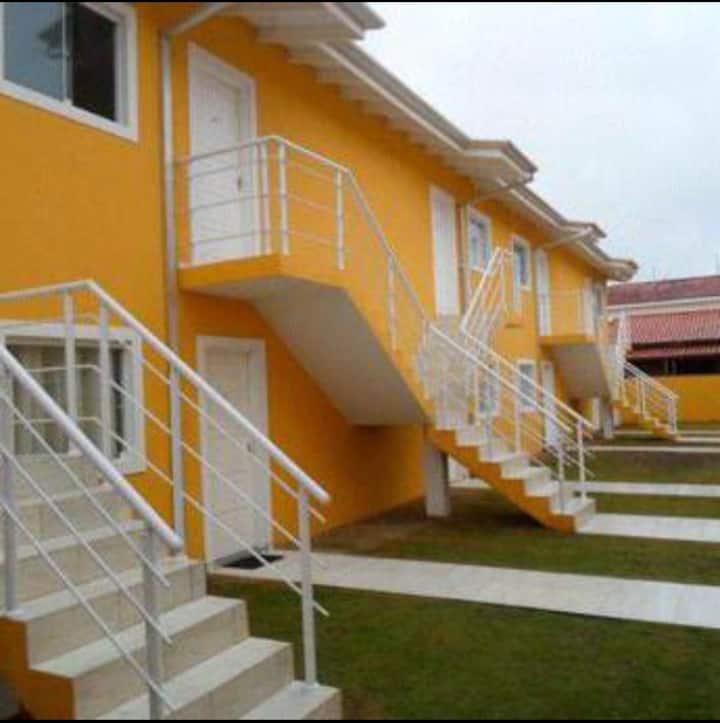 Casa na Massaguacu 50 Mt praia.Ar cond, internet.