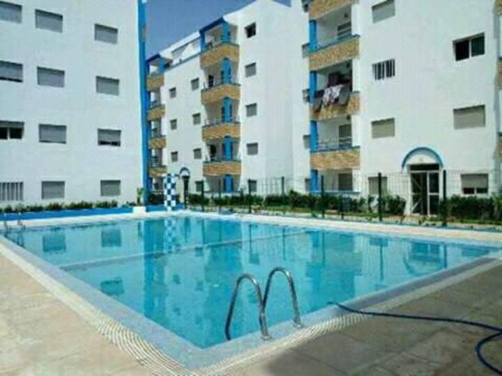 Appartement de luxe avec piscine OUED LAOU