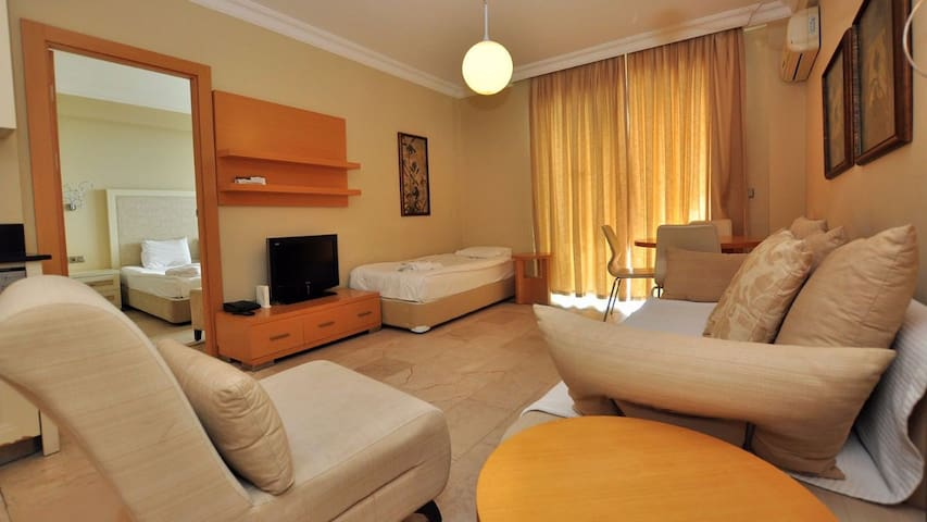 Goldcity 1+1  Deniz Manzara - Alanya - Serviced flat